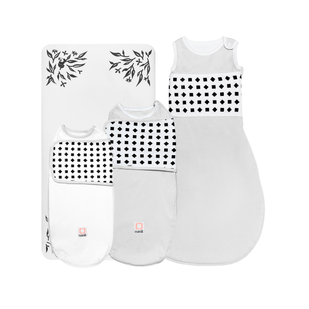 Nanit Breathing Wear First Year Pack with Sheets